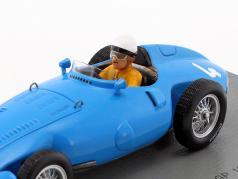 Andre Pilette Gordini T32 #4 6th monaco GP formula 1 1956 1:43 Spark