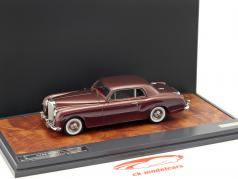 Bentley S1 Continental Park Ward  year 1956 brown metallic 1:43 Matrix