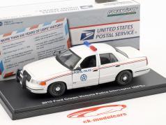 Ford Explorer Postal Police USPS anno di costruzione 2014 bianco 1:43 Greenlight