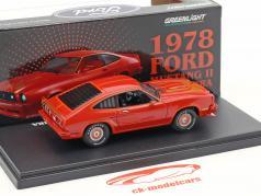 Ford Mustang II King Cobra anno di costruzione 1978 rosso 1:43 Greenlightht