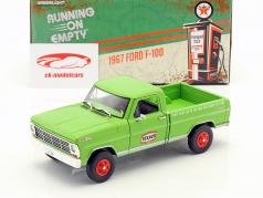 Ford F-100 Pick-Up Texaco Oil anno di costruzione 1967 verde 1:24 Greenlight