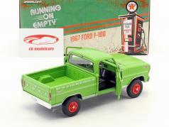 Ford F-100 Pick-Up Texaco Oil anno di costruzione 1967 verde 1:24 Greenlight