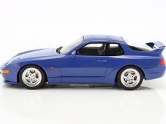Porsche 968 Turbo S Coupe Baujahr 1993 maritim blau 1:18 GT-Spirit
