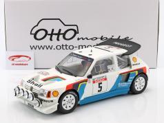 Peugeot 205 T16 Evo2 #5 Winner Rallye Tour de Corse 1986 Saby, Fauchille 1:12 OttOmobile