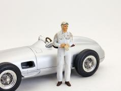 Auto Union racer figure after the race 1:18 Figutec Figures