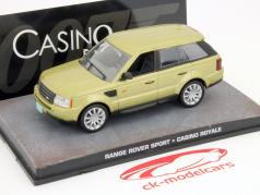 Range Rover Sport James Bond Movie Car Casino Royale gold 1:43 Ixo