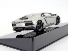 Lamborghini Aventador The Dark Knight Rises silver metallic 1:43 HotWheels Elite