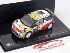 Citroen DS3 WRC Abu Dhabi World Rally Team Presentation 1:43 Ixo