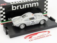 Porsche 550A RS Coupe #25 24h LeMans 1956 1:43 Brumm