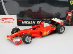 Schumacher Ferrari F2000 GP Japan formula 1 worldchampion 2000 1:18 HotWheels