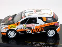 Citroen DS3 R3 #79 Rally Monte Carlo IRC 2011 Burri, Rey 1:43 Ixo