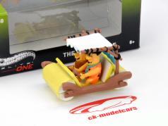 The Flintstones The Flintmobile mit 2 Figuren 1:50 HotWheels One