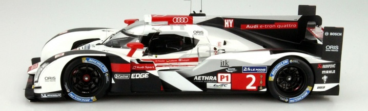Audi R18 e-tron quattro - The winning car from Le Mans 2014 in 1:18