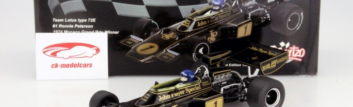 Formula 1 Grand Prix Monaco - Model car from the winners from 1974