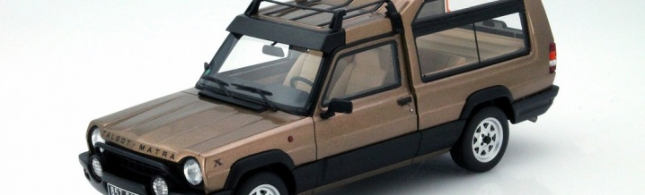 Matra Rancho X 1:18 - Otto Mobile and the first of its kind