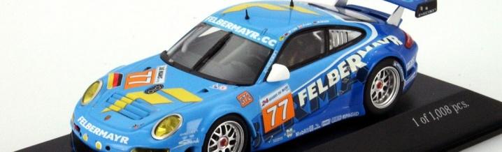 Mini Champs: New Porsche 997 GT3 RSR 24 Hours of Le Mans