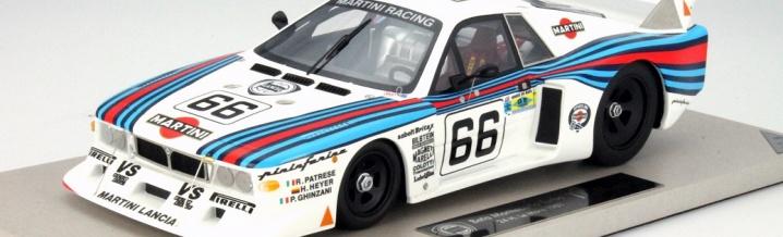 Beautiful model cars from Lancia Beta Montecarlo Turbo in 1:18