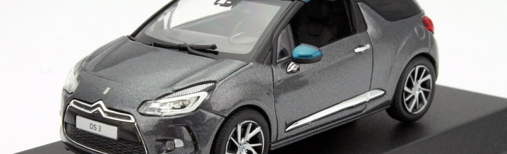 DS is serious - DS Automobiles and Norev with the DS 3