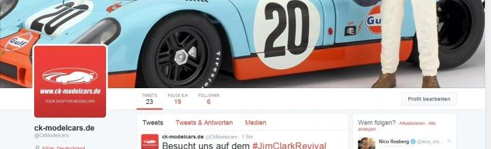 BREAKING NEWS: ck-model cars now on Twitter