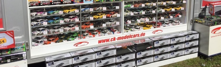 ck-model cars in Hockenheim and Berlin - come and see!!
