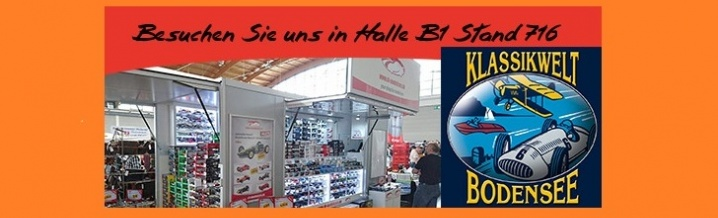 BREAKING NEWS: ck-model cars at the Classic World Bodensee