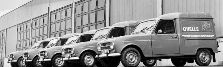 #throwbackthursday with the Renault 4 Fourgonnette