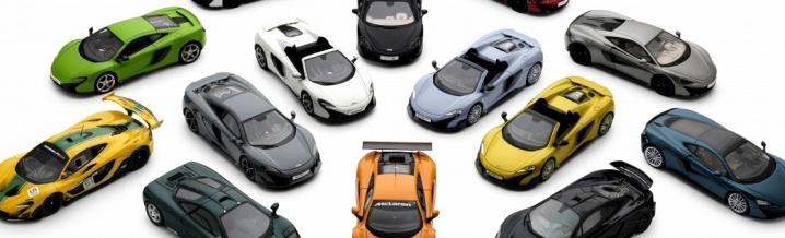 McLaren und die Modellauto-Offensive in 1:43 und 1:18