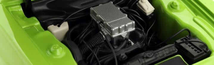 Im Porträt: Ford Capri I RS 2600 von Minichamps