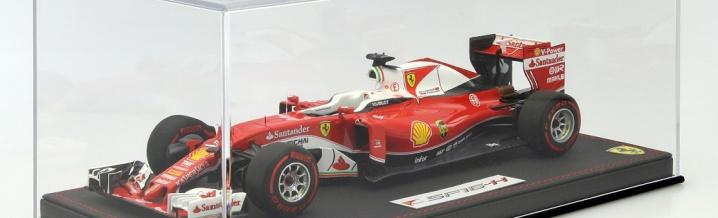 BBR bringt neues Modell zum Thema Vettel / Ferrari spricht