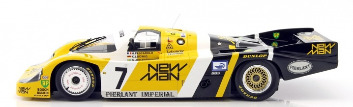 TSM delivers a powerhouse: Porsche 956 in 1:12