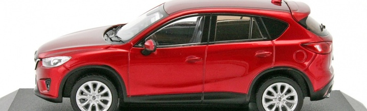 Premiere for First43: Mazda CX-5 new in 1:43