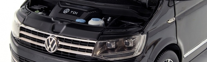 NZG shows best performance: New Multivan in 1:18