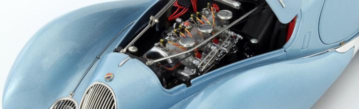 The Talbot Lago Coupe T150 C-SS Teardrop Figoni & Falaschi