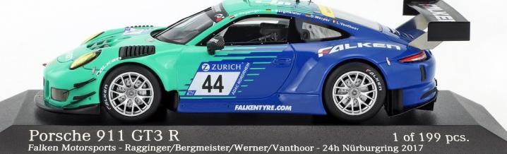 Falken Motorsports mit exklusivem Modellauto in 1:43