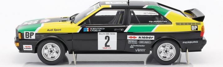 Minichamps und der Audi Ur-Quattro in 1:18