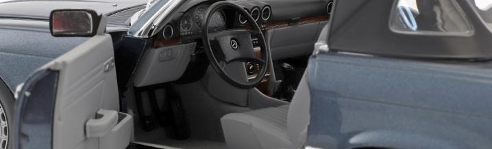 Mercedes-Benz SL: Sommerfrische anno dazumal in 1:18