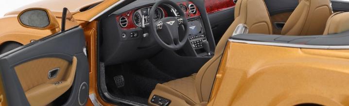 Paragon Models und der Bentley Continental 2016 in 1:18