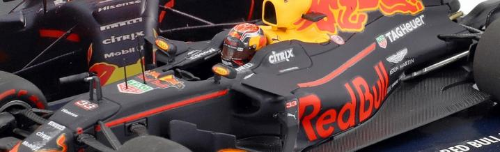 Max Verstappen und Daniel Ricciardo 2017: Modelle in 1:43 und 1:18
