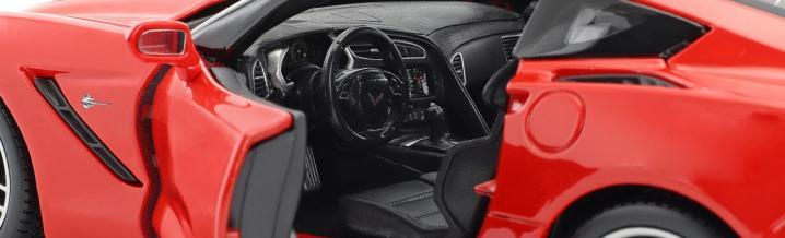 Maisto und die Modellautos zur Chevrolet Corvette Stingray