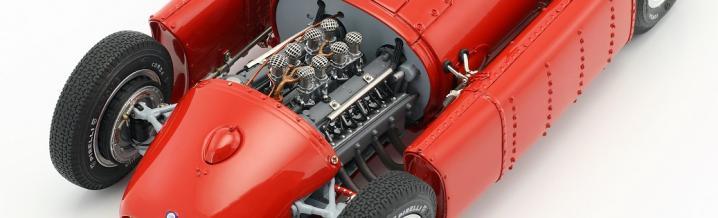 CMC präsentiert mit dem Lancia D50 in 1:18 ein Juwel