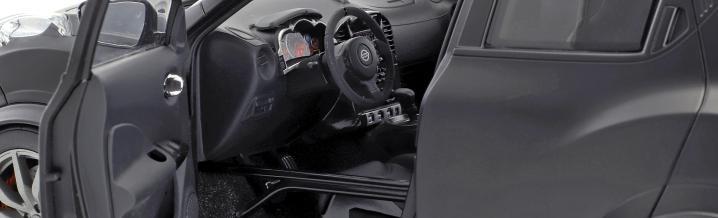Ein echt rasanter Japaner: Über-Juke als Modellauto