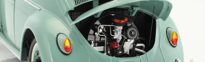 Wieder eine Großtat: Der VW Käfer von 1961 in 1:12