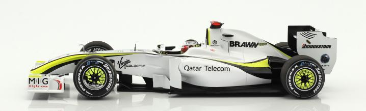 Formel 1 von Minichamps: Der Brawn BGP001 in 1:43 und 1:18