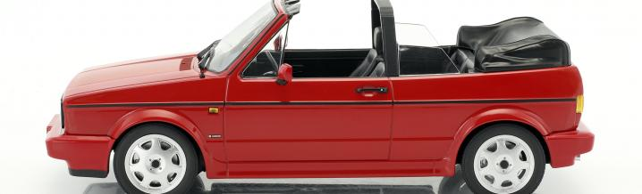 Exclusive model: Volkswagen Golf I Convertible 1992 in 1:18