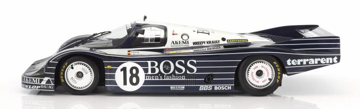 Hugo Boss by TSM: Porsche 956 Obermaier Racing