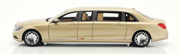 The best or nothing: Mercedes-Maybach Pullman in 1:18