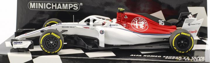 Formula 1 2018: Minichamps celebrates the series premiere of the Halo