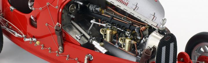 CMC feiert den Motorsport: Bugatti T 35 Nation Color Project