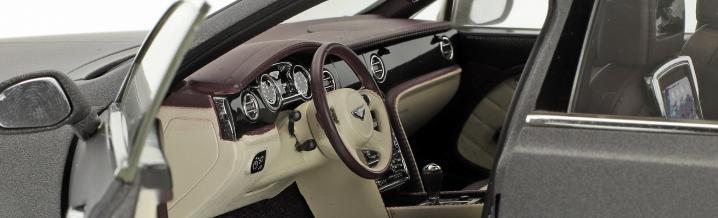 Meisterwerk von Kyosho: Bentley Mulsanne im Maßstab 1:18