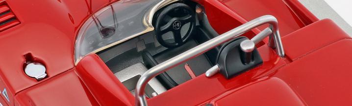 Passend zum OGP: Tecnomodel und der Alfa Romeo T33/3